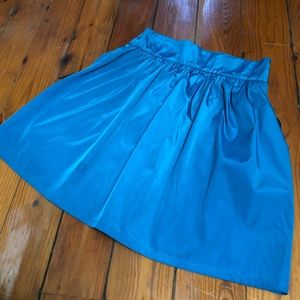 Small UO blue skirt with pockets cute summer style